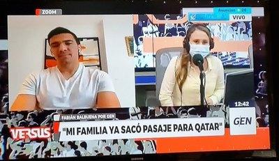 """Crónica / Balbuena habla de la """"durísima competencia"""""""