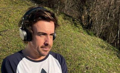 F1: Alonso publica su primera imagen tras el accidente