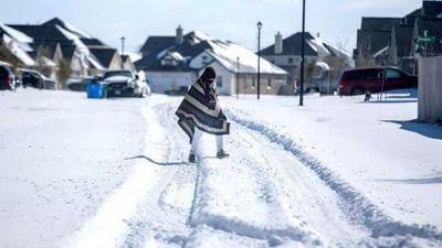Texas: la gigantesca tormenta de nieve que afecta al sur de EEUU