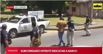 Sub Comisario fue detenido intentando rescatar a su ``patrón´´ narco