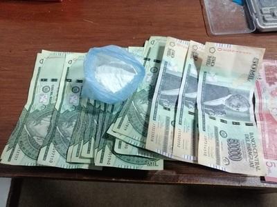 En departamento céntrico de Asunción anulan punto de distribución de cocaína