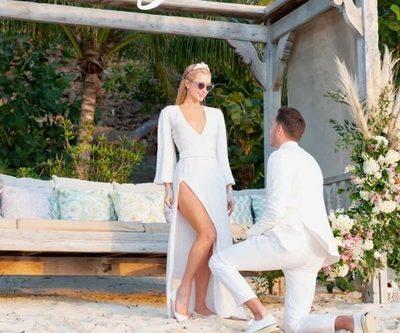 Cómo es el anillo de compromiso de Paris Hilton