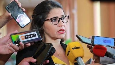Legisladoras de la Cámara de Diputados respaldan gestión de la ministra de Justicia