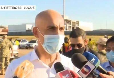 Mazzoleni asegura que no habrá politización en aplicación de vacunas
