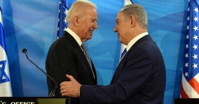 La Nación / Primera entrevista de Netanyahu con Biden