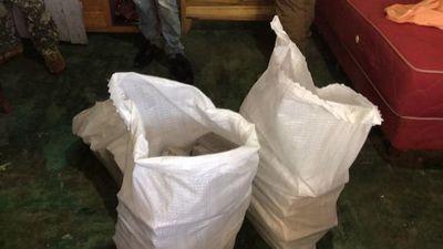 Senad captura a un hombre con cerca de 100 kilos de marihuana en Amambay