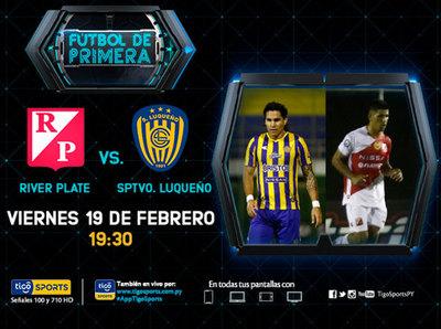Sportivo Luqueño y River Plate abren la cuarta fecha