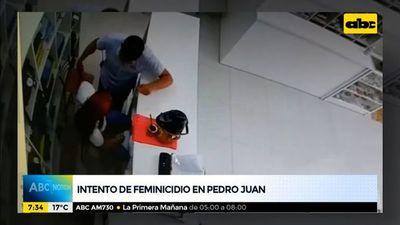 Nuevo intento de feminicidio en Pedro Juan Caballero