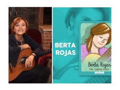 Historia de Berta Rojas llega en un cuento para  niños