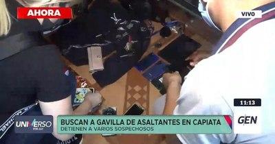 """La Nación / Detienen en Capiatá a tercer """"cortinero"""" por robo a casas comerciales"""