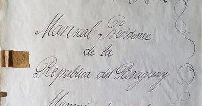 """La Nación / Rubiani: """"Los documentos podrían pertenecer a la época de la Guerra de la Triple Alianza"""""""