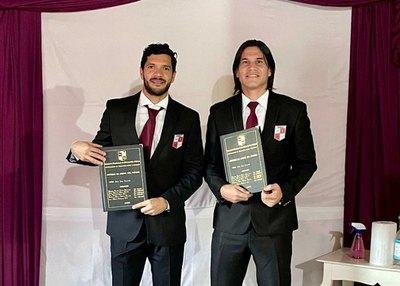 Guillermo Beltrán y José Ortigoza se recibieron como técnicos