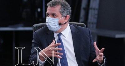 """La Nación / Hugo Cáceres: """"La economía en general se viene recuperando"""""""