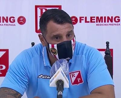 Mario Jara es sincero con su equipo