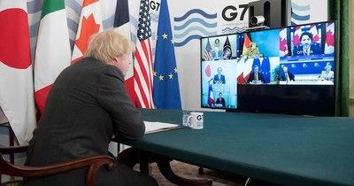 La Nación / El G7 anuncia ayuda de US$ 7.500 millones para la vacunación anticovid