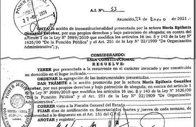 """Corte Suprema  da una mano a mamá de """"Joselo"""" para ir como consejera del BNF"""