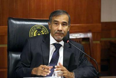 Corrupción pública: muchos casos parados en la sala Constitucional, dice ministro
