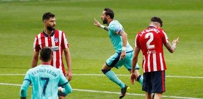 Atlético Madrid perdió por segunda vez en LaLiga de España