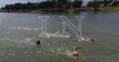 La Nación / La natación de aguas abiertas entusiasma