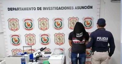 La Nación / Robó un laboratorio y ofrecía instrumentos por redes sociales, fue detenido