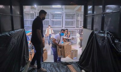 Este lunes inicia distribución de máquinas de votación a nivel país