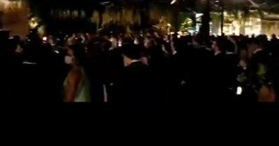 La Nación / Fiscalía intervino una boda de la familia Zapag