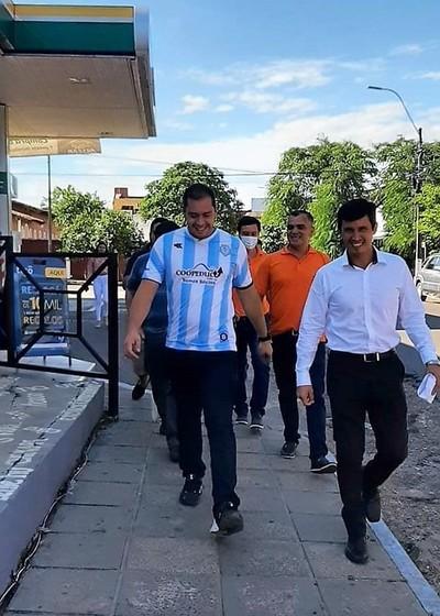 Cuestionan DESATINADA actitud de Miguel Prieto de hacer POLITICA con camiseta de GUAIREÑA