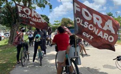 Continúan protestas en Brasil para exigir renuncia de Bolsonaro