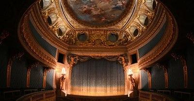 La Nación / En plena pandemia, el teatro de María Antonieta en Versalles renueva su belleza