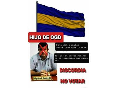 Hijo de OGD  quiere ser electo concejal de Luque por tercera vez