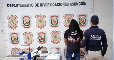 La Nación / Detienen a ladrón de laboratorio