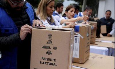 Ecuador anunció los dos candidatos que van a segunda vuelta