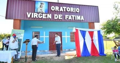 Inauguran varias obras en Caazapá