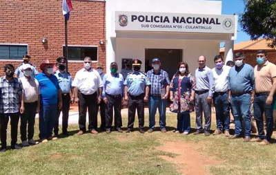 Inauguran nueva comisaría en Repatriación