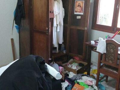 Delincuentes hurtan dinero y tapabocas de un convento en Guairá