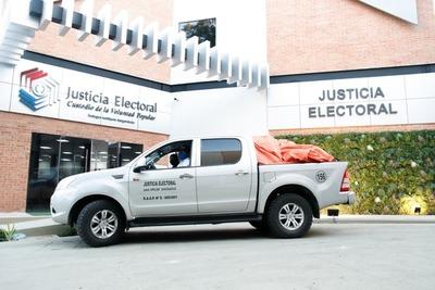 Inició distribución de máquinas de votación para capacitar a la ciudadanía