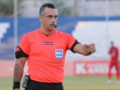 Autoridades designadas para el juego Guaireña FC vs. Libertad