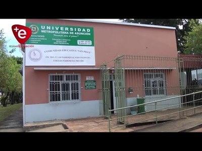 UNIVERSIDAD METROPOLITANA DE ASUNCIÓN AULA DE APOYO EN ENCARNACIÓN.