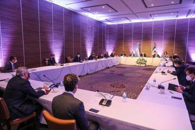 """Empresarios mexicanos ven """"apertura y recuperación"""" en reunión con Fernández"""