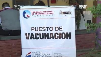 Sputnik V: Inmunizan al Personal de Blanco