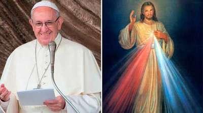 Papa alienta a difundir mensaje de la Divina Misericordia