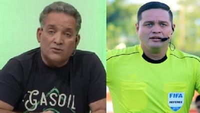 Samaniego ya no debe arbitrar partidos de Olimpia, afirma Valenzuela