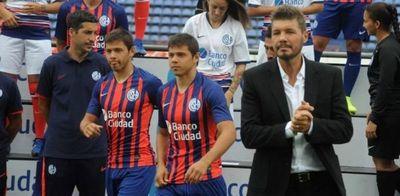 Derrota de San Lorenzo con los Romero en la banca