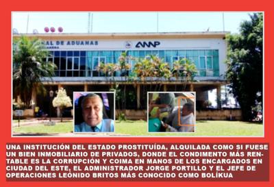 SE ALQUILAN PIECITAS DE LA ANNP EN CDE!!
