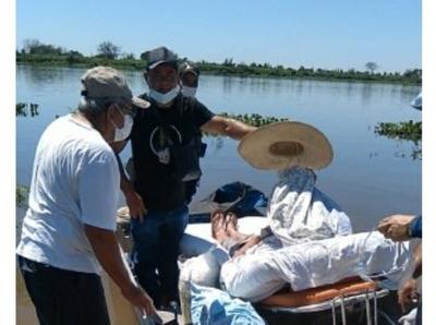 Ante aislamiento, chaqueños llegan a Concepción para atención médica