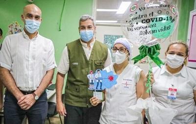 Concepción inició oficialmente su campaña de vacunación contra el coronavirus.