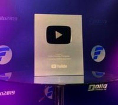 Éxito rotundo: Baila Conmigo Paraguay recibe placa de plata de Youtube
