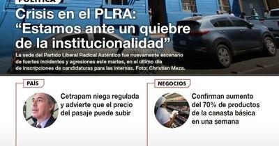 La Nación / LN PM: Las noticias más relevantes de la siesta del 23 de febrero