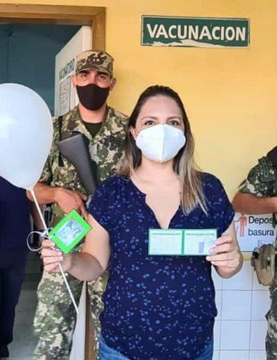 Vacunación a nutricionista genera ronchas entre el personal desplazado