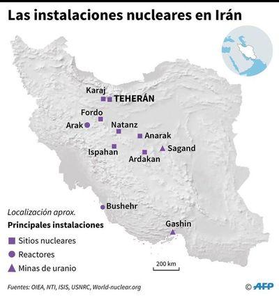 Irán sigue enriqueciendo uranio y ampliando sus capacidades nucleares